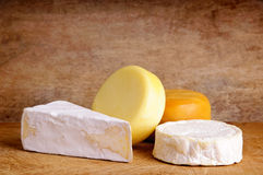 Still life with cheese Royalty Free Stock Images