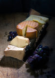 Still life with cheese Royalty Free Stock Photography