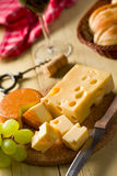 Still life with cheeses Stock Photo