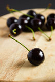 Still life with cherries. Stock Images