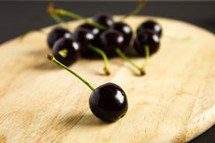 Still life with cherries. Stock Photos