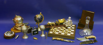 Still life with chess Royalty Free Stock Image