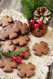 Still life with christmas cookies Royalty Free Stock Photo
