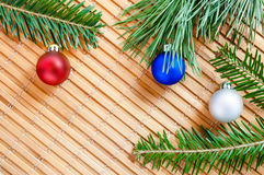 Still life with Christmas decorations Royalty Free Stock Photos