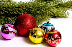New Year`s and Christmas royalty free stock photo