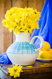 Still Life Chrysanthemums Royalty Free Stock Photo