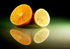Still life with citruses Royalty Free Stock Photography