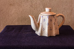 Still life classic ceramic kettle Stock Photography