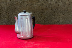 Still life classic kettle Royalty Free Stock Photo