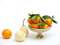 Still life with clementines Stock Images