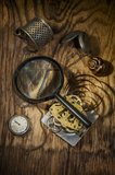 Still life with clock Royalty Free Stock Photography