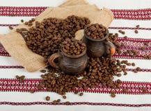 Still life of coffee. Royalty Free Stock Photos