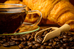 Still life with coffee stock images