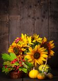Still life in colours of autumn Royalty Free Stock Image