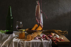 Still life with  cook Stock Photography