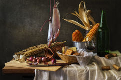Still life with  cook Royalty Free Stock Image