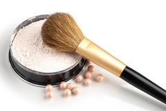 Still life with cosmetics Stock Images