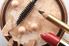Still life with cosmetics Stock Photography