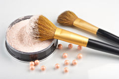Still life with cosmetics Royalty Free Stock Photos
