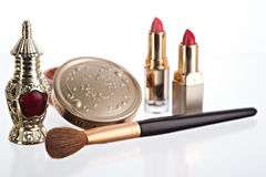 Still life with cosmetics Stock Image
