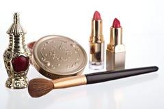 Still life with cosmetics Stock Image