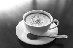 Still life of cup of coffee Stock Image