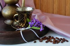 Still life with cup of coffee Royalty Free Stock Photos