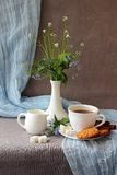 Still-life with a cup of coffee Royalty Free Stock Image
