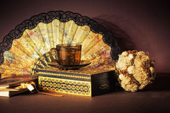 Still life with cup of tea Royalty Free Stock Images