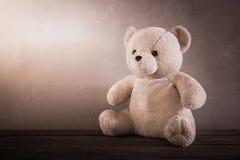 Still life of a cute teddy bear Royalty Free Stock Photos