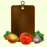 Still life with cutting board Royalty Free Stock Image