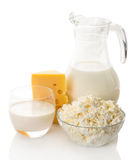 Still life of dairy products Royalty Free Stock Photography