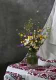 Still life with daisies Stock Image