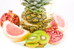 Still life from different fruit Stock Image