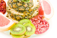 Still life from different fruit Royalty Free Stock Photography