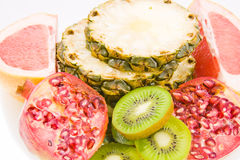 Still life from different fruit Royalty Free Stock Image