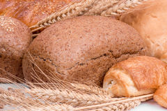 Still life of different kinds of bread Stock Image