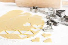 Still life of dough Stock Images