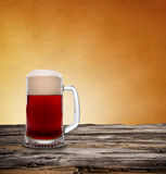 Still life with a draft beer Royalty Free Stock Photography