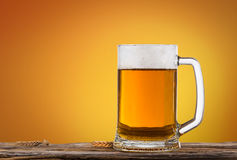 Still life with a draft beer Stock Photography