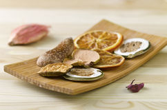 Still life - dried fruits Royalty Free Stock Images