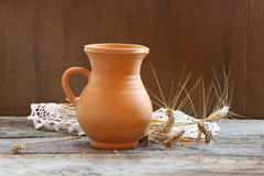 Still life with  ears of wheat Royalty Free Stock Image