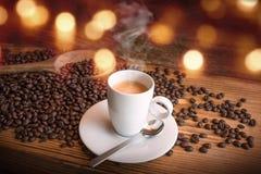 Still life with espresso Stock Photos