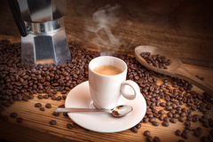 Still life with espresso Royalty Free Stock Images
