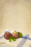Still life with figs Royalty Free Stock Images