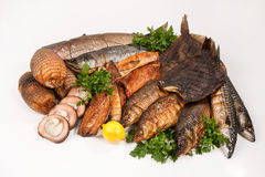 Still Life With Fish Stock Photography