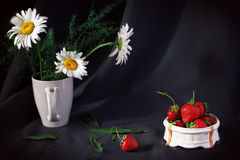 Still-life with flowers Royalty Free Stock Images