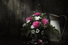 Still Life Flowers drop sunlight Royalty Free Stock Photo