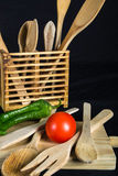 Still life. Of food and kitchenware Royalty Free Stock Photography