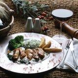 Still life food meat menu Royalty Free Stock Photo